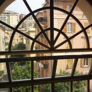 finestra in ferro